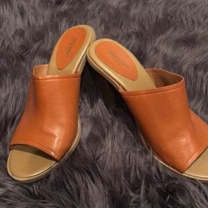 Old Navy LIKE NEW Open Toe Mules